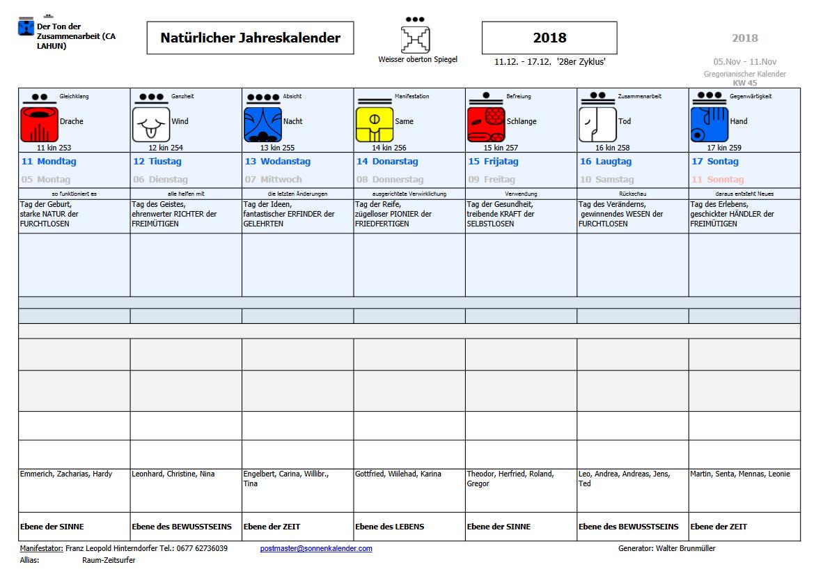 Kalenderwocje